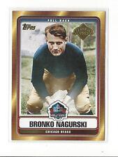 2006 TOPPS HALL OF FAME TRIBUTE BRONKO NAGURSKI #HOFT-BN CHICAGO BEARS