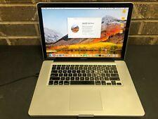 "New listing Apple MacBook Pro MC371LL/A (2010) 13"" i5 2.40GHz 8GB RAM 256GB SSD High Sierra"