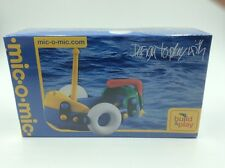 Mic O Mic Boat Design To Play With German Quality Toy New Sealed