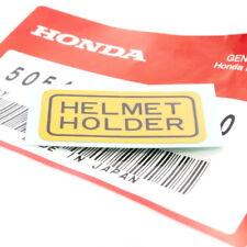 Honda CB 125 250 450 650 750 900 autocollant tête casquée Holder Décalque sticker