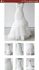Beautiful Rosa Clara wedding gown, size 4, trumpet/mermaid silhouette $960