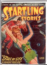 GLOSSY UNREAD! Jan 1947 15c STARTLING STORIES Scifi Pulp A THRILLING PUBLICATION