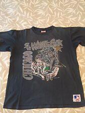 Vintage CHICAGO WHITE SOX MLB 1990 Sosa Frank Thomas Nutmeg Shirt XL