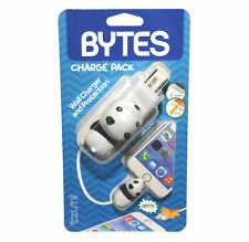 Tzumi Bytes Panda Bear Charge Pack Wall Charger Cable Plug Protection
