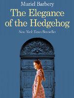 The Elegance of the Hedgehog by Muriel Barbery FREE USA SHIPPING Hedge hog