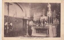LA ROCHETTE abbaye grille du choeur écrite