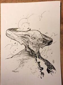 SHINNOK (da Mortal Kombat) di Marco Turini - disegno originale
