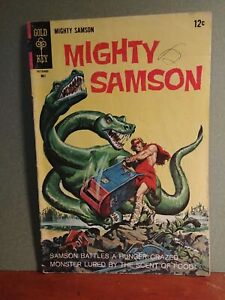 Mighty Samson #14 12c Cover Price Variant 4.0 conditioin 1968