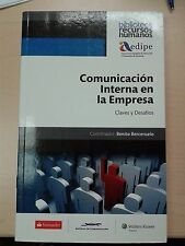 Comunicacion Interna en la Empresa Claves y Desafios  Soft Cover Book NEW