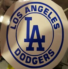 LA Dodgers MLB Baseball Vinyl Decal white or blue choose your style