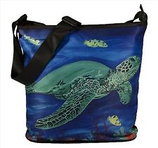 Sea Turtle Large Cross Body by Salvador Kitti - Support Wildlife Conservation