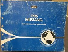 1996 Ford Mustang Electrical & Vacuum Troubleshooting Shop Service Manual