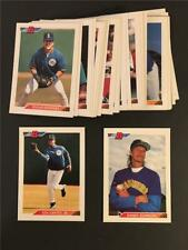 1992 Bowman Seattle Mariners Team Set 32 Cards