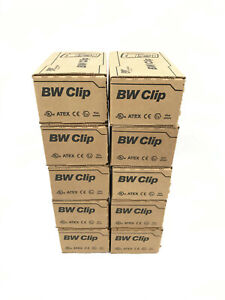 10x BW Technologies BWC2-H GasAlertClip Gas Monitor Extreme Hydrogen Sulfide H2S
