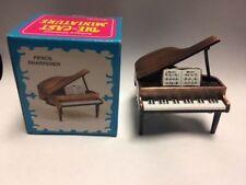 PIANO BRONZE PENCIL SHARPENER NEW