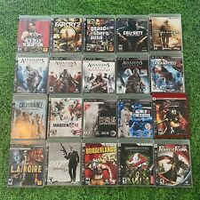 Sony PlayStation 3 PS3 Video Games CIB Excellent Large Lot