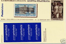 2003 Repubblica libretto Montecitorio ** nuovo perfetto