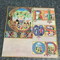 LP VINYL ALBUM RECORD KING CRIMSON LIZARD 1970 UK 1ST PRESS EX/VG+