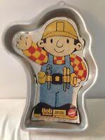 Bob The Builder Wilton Cake Pan Jello Mold 2105 5025 aluminum