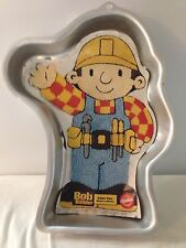 2002 Bob The Builder Wilton Cake Pan Jello Mold 2105-5025