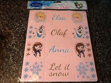 NUOVO con confezione NUOVO DISNEY! Snap Bathtime Frozen Puzzle-Elsa Anna Olaf Wet N Stick