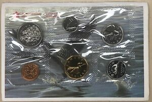 1991 Canada Uncirculated PL Complete Coin Set from The Royal Canadian Mint
