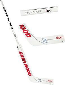 Martin Brodeur New Jersey Devils Signed Sher-wood SL-700 Game Model Goalie Stick