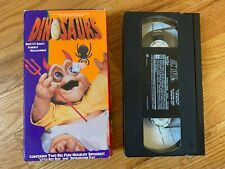 Disney DINOSAURS Christmas & Halloween Special Holiday Edition VHS Tape