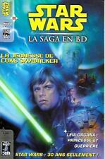 Magazine STAR WARS la saga en BD n° 9-LUCAS BOOK éditions DELCOURT 2007