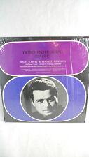 Deitrich Fischer-Dieskau & Lisa Otto LP Record BACH CANTATAS Seraphim Records