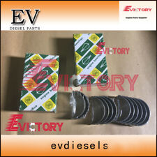 For Yanmar vio25 EXCAVATOR 3TNV76 MAIN CRANKSHAFT BEARING + con rod bearing set