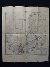 Landkarte Meßtischblatt 1903 Brandenburg a.d. Havel, Butzow, Ketzür, von 1932