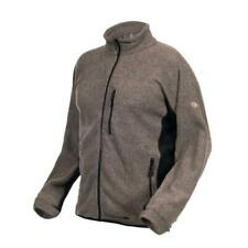 Trespass Mens Oak Full Zip Fleece Jacket Rib Effect Coat