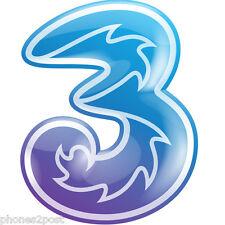 3 Trio Pay As You Go Data Reward SIM - Mobile Internet Broadband - 200MB FREE
