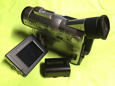 Sharp Camcorder VL-WD250U Mini DV Camera and 1 Battery Only
