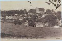 ISLE OF WIGHT. RARE EARLY 1900s POSTCARD CARISBROOKE GENERAL VIEW NO 1 LL SERIES