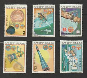 Vietnam Stamps Complete Space Mission Sets Collection Scott # 1063 - 1068 MNH