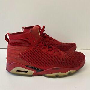 Nike Air Jordan Flyknit Elevation 23 (AJ8207-601) Red Sneakers Men's Size 10