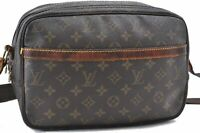 Authentic Louis Vuitton Monogram Reporter PM Shoulder Bag M45254 LV A7243