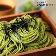 Uji-tya soba 200 g × 5 pieces itoukyuemon Made in Japan
