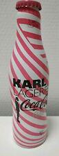 Bouteilles Coca Cola Aluminium Série Limitée - Karl Lagerfeld / Pleine