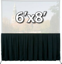 Da-Lite 36725 - Skirt Drapery For 6x8 Fast-Fold Deluxe Screen System