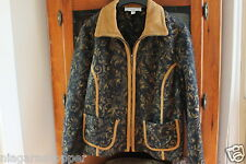 PROPORTION PETITE CONRAD C*Womens Size 14*Zip Jacket/Blazer*MADE IN CANADA*