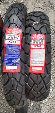 KENDA  K761 100/90-19 & 130/80-17 TWO TIRE SET ! WITH IRC TUBES!