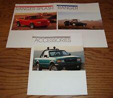 Original 1993 Ford Truck Ranger Sales & Accessory Brochure Lot of 3 93