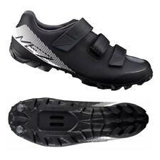 Shimano ME2 MTB Cycling Shoes (Black/White / Men's / 42 EU-8.3 US Size)