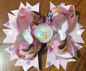 Disney Princess Character Hair Bow with Free Shipping