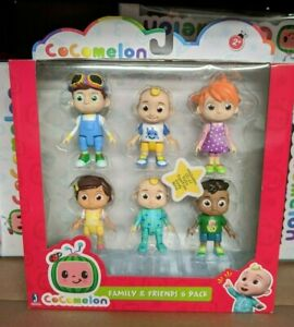 Cocomelon Family & Friends 6 Pack Figure Play Set Toy YouTube New SHIPS NOW