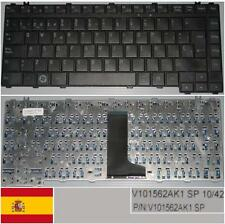 Qwerty Keyboard Spanish TOSHIBA Satellite A300 A305 M300 L300 V101562AK1 BLACK