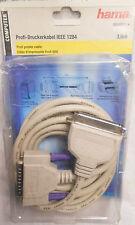DRUCKERKABEL IEEE 1284 3m HAMA 42122 Drucker Kabel PC 25-pol. zu 36-pol. Stecker